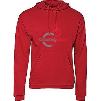 sweatshirt-à-capuche-unisexe-rouge